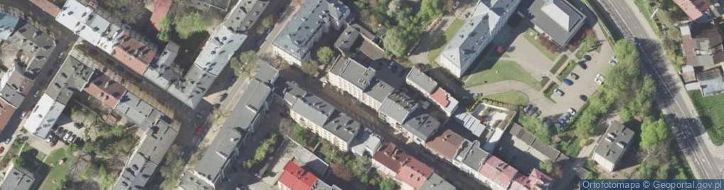 Zdjęcie satelitarne Graniczna 4
