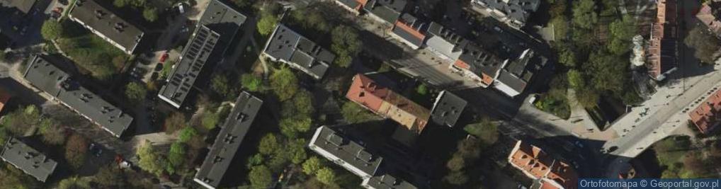 Zdjęcie satelitarne Grunwaldzka 9