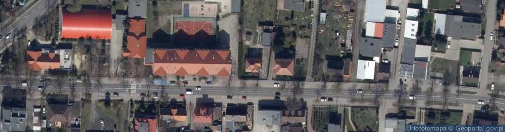 Zdjęcie satelitarne Grabowska ul.