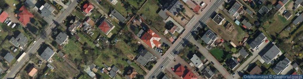 Zdjęcie satelitarne Grunwaldzka 391