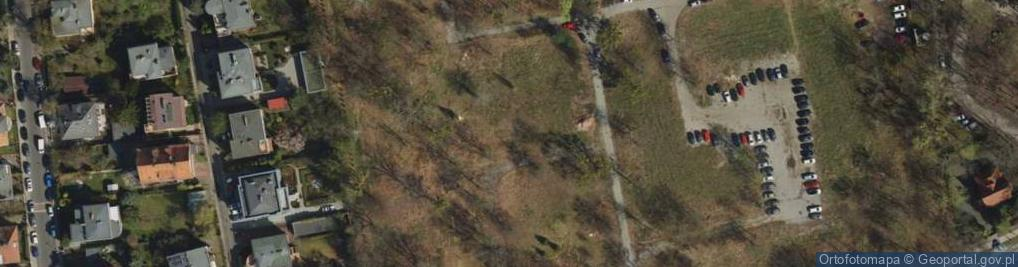 Zdjęcie satelitarne Grunwaldzka 55