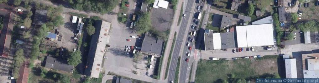 Zdjęcie satelitarne Grudziądzka 163
