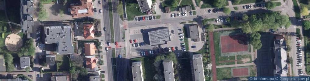 Zdjęcie satelitarne Grudziądzka 86