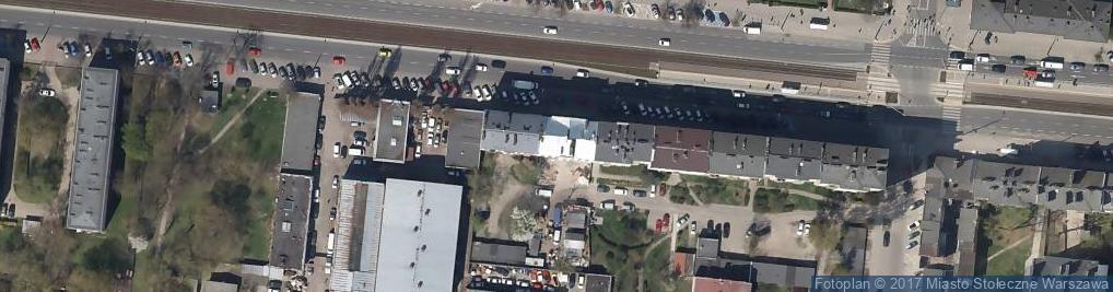 Zdjęcie satelitarne Grochowska 295