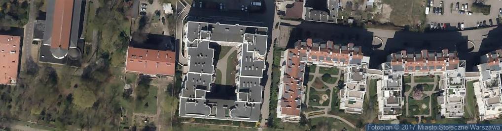 Zdjęcie satelitarne Grochowska 357