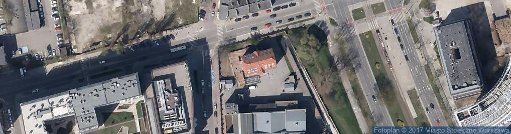 Zdjęcie satelitarne Grzybowska 79