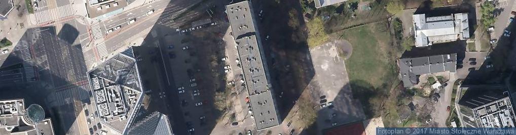 Zdjęcie satelitarne Grzybowska 9