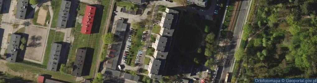 Zdjęcie satelitarne Grabiszyńska 319