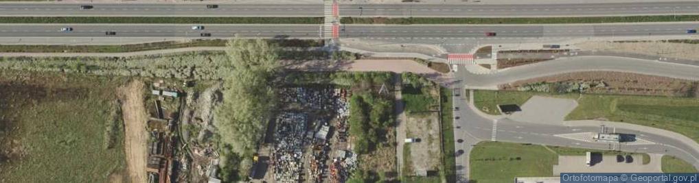 Zdjęcie satelitarne Graniczna 8
