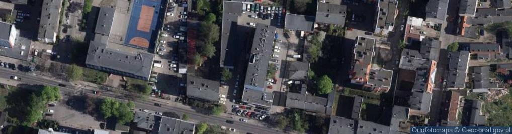 Zdjęcie satelitarne Hetmańska 28