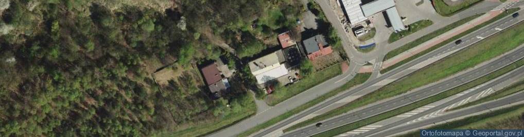 Zdjęcie satelitarne Hutnicza 26
