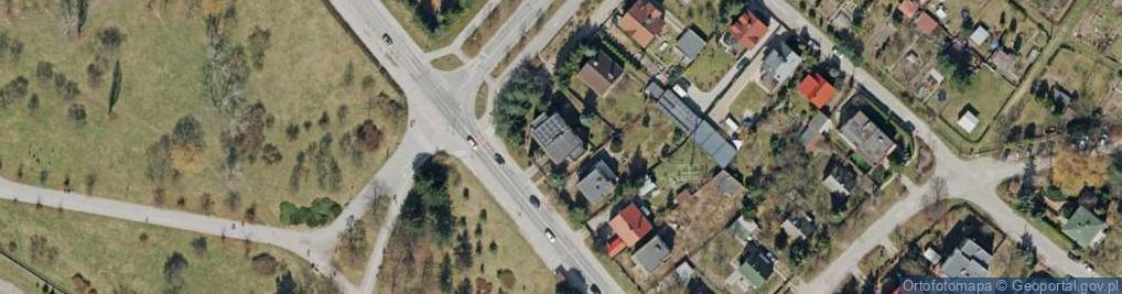 Zdjęcie satelitarne Husarska 40