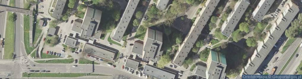 Zdjęcie satelitarne Hutnicza 20