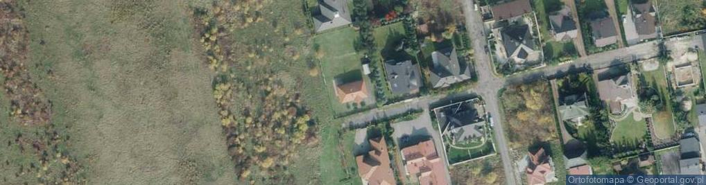 Zdjęcie satelitarne Jagodowa 18