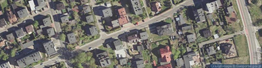 Zdjęcie satelitarne Jaworowa 35