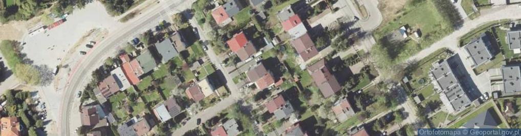 Zdjęcie satelitarne Jaworskiego Kazimierza Andrzeja ul.