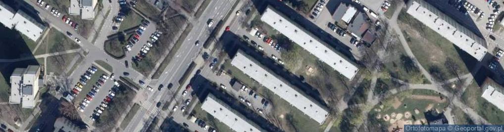 Zdjęcie satelitarne Jana Pawła II ul.