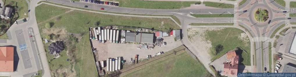 Zdjęcie satelitarne Jaśkowicka ul.