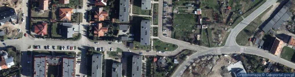Zdjęcie satelitarne Jaworowa 18