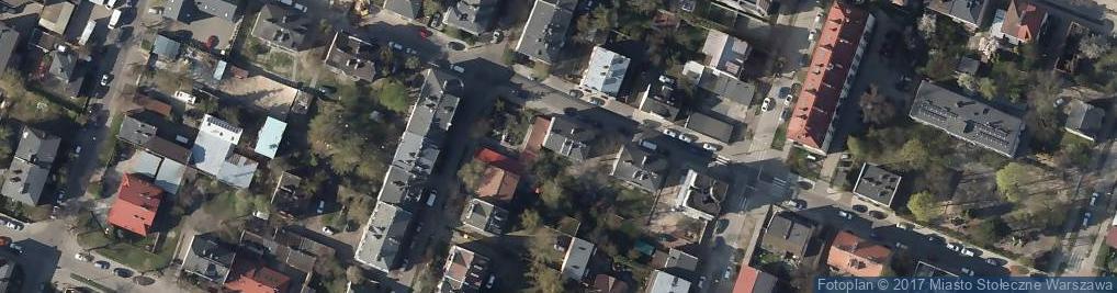 Zdjęcie satelitarne Jarocińska ul.