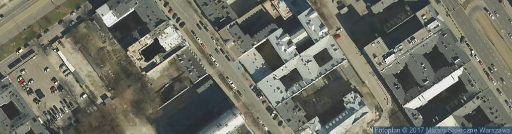Zdjęcie satelitarne Jagiellońska 34