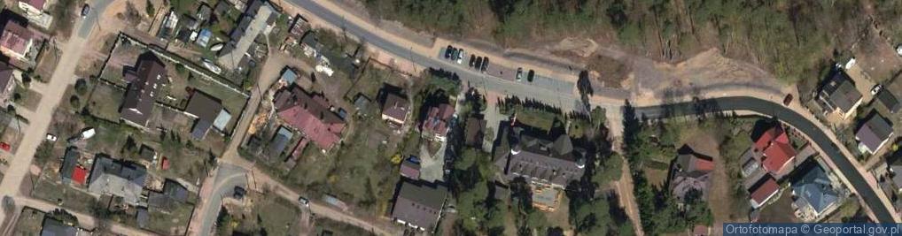 Zdjęcie satelitarne Jeziorna ul.