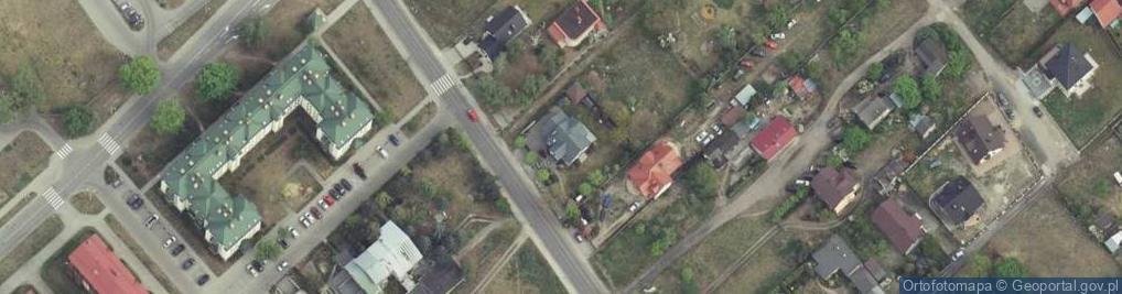 Zdjęcie satelitarne Jodłowskiego Stefana 58A