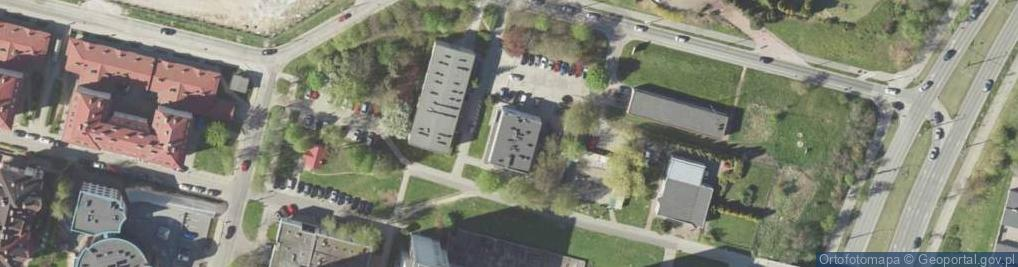 Zdjęcie satelitarne Jutrzenki ul.