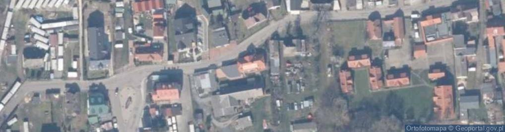 Zdjęcie satelitarne Kapitańska ul.