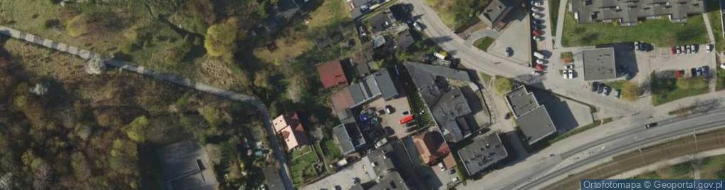 Zdjęcie satelitarne Kartuska ul.