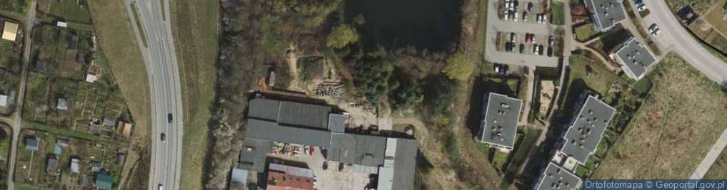 Zdjęcie satelitarne Kartuska 377