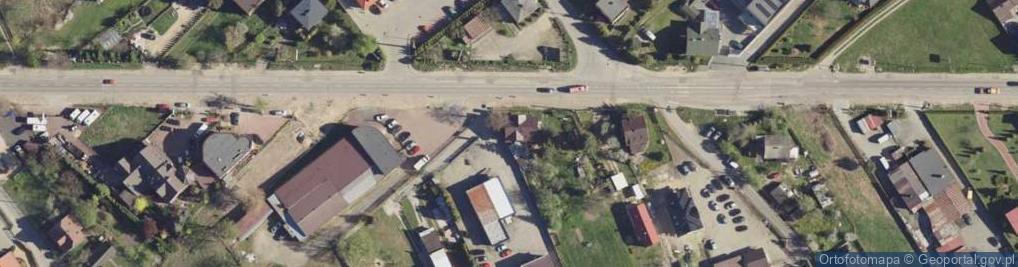 Zdjęcie satelitarne Katowicka 19