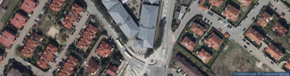 Zdjęcie satelitarne Kameralna 11