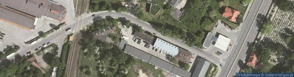 Zdjęcie satelitarne Kamienna 43