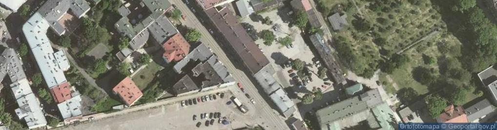 Zdjęcie satelitarne Karmelicka ul.