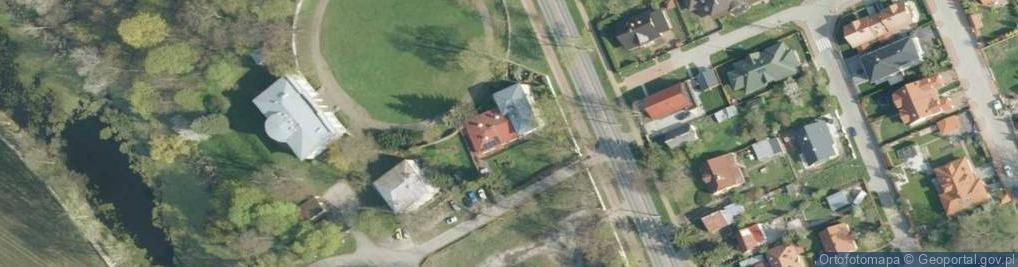 Zdjęcie satelitarne Kazimierska 4