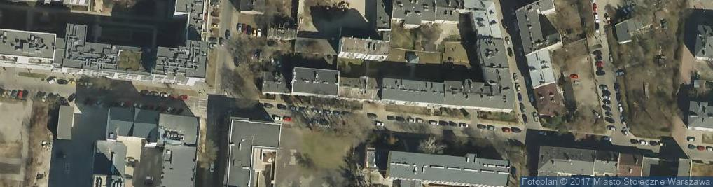 Zdjęcie satelitarne Kamionkowska 29