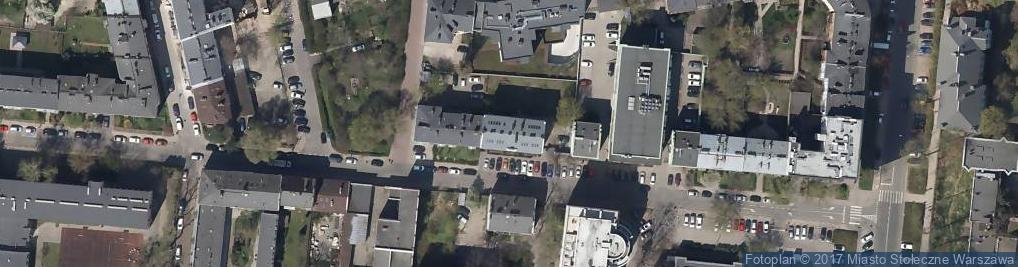 Zdjęcie satelitarne Kamionkowska 41