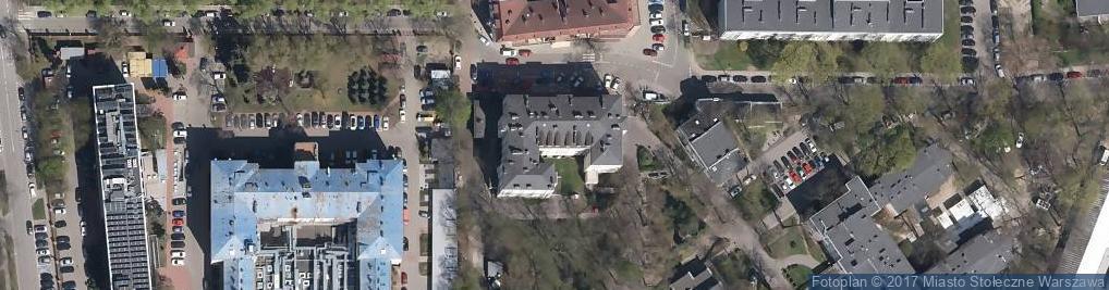 Zdjęcie satelitarne Kasprzaka Marcina 17A