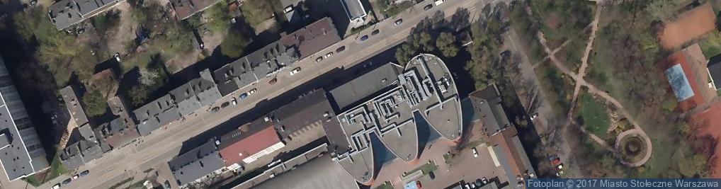 Zdjęcie satelitarne Kawęczyńska 36