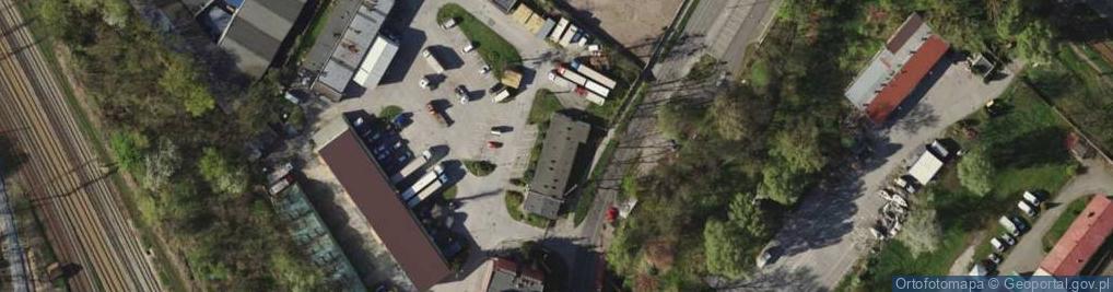 Zdjęcie satelitarne Karwińska 11