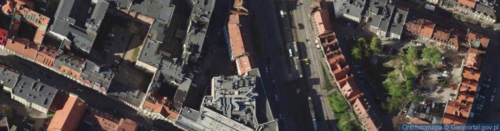 Zdjęcie satelitarne Kazimierza Wielkiego 17