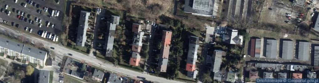 Zdjęcie satelitarne Kamienna 94