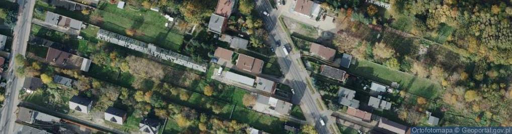 Zdjęcie satelitarne Kisielewskiego 95