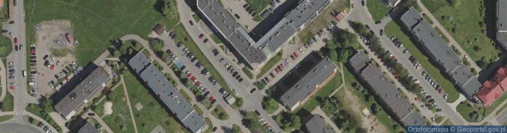Zdjęcie satelitarne Kiepury Jana 77