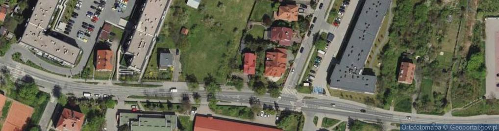 Zdjęcie satelitarne Kiełczowska ul.