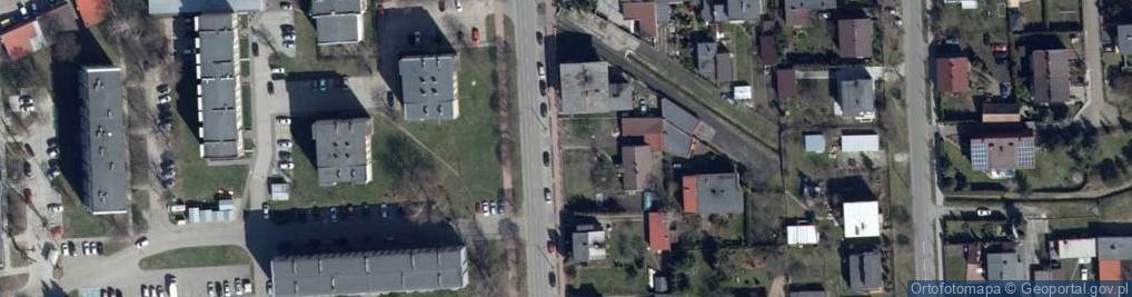 Zdjęcie satelitarne Kilińskiego Jana, płk. 82a