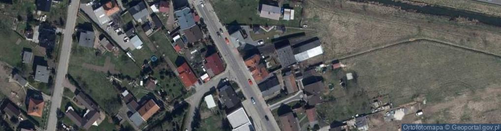 Zdjęcie satelitarne Kłodnicka 24A