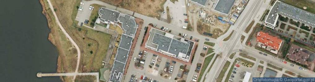 Zdjęcie satelitarne Klonowa 55