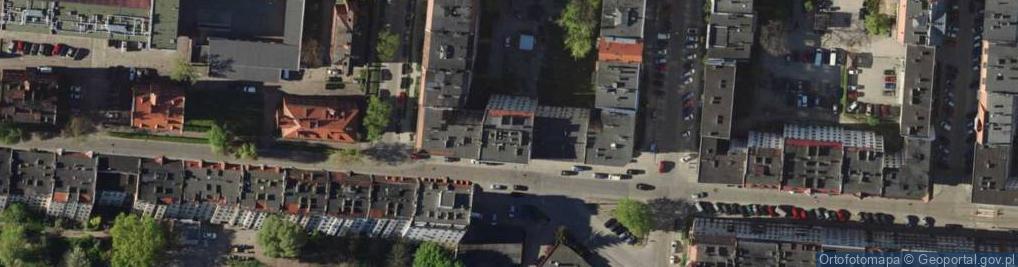 Zdjęcie satelitarne Kleczkowska ul.